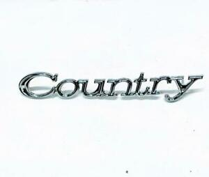 Genuine Ford D3az 7125622 a Oem 1973 Country Sedan country Nameplate Emblem