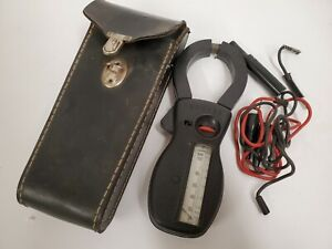 Amprobe Clamp Meter With Case Vintage Used