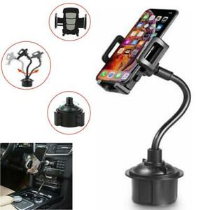 Weather Universal Cup Holder Car Mount Cradle For Cell Phone Gps Adjust tech Us