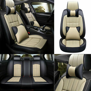 Luxury 5 sits Car Seat Covers Interior Cushions Universal Breathable Accessories