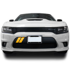 Front Bumper Hash Marks Stripes Vinyl Decal Fits Dodge Charger 2015 2021 Gloss