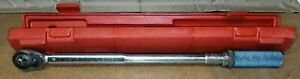 Snap On Qjr 3200 Torch Wrench W Case C Click Drive Ratchet