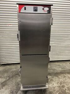 Heated Food Warmer Hot Box Holding Cabinet On Wheels Nsf Transport Bevles 5072