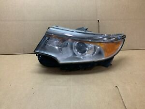 Oem 2011 2012 2013 2014 Ford Edge Xenon Headlight Left Side Lh Nice