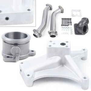 New Pedestal Exhaust Housing Up Pipes Fit For 1994 1997 Ford 7 3 Powerstroke Hot