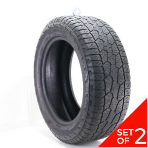 Set Of 2 Used 275 55r20 Hankook Dynapro Atm 113t 5 5 5 32