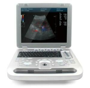 Portable Color Doppler Ultrasound Scanner Machine With Convex Probe Cms1700a