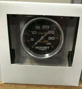 Carroll Shelby Signature Autometer 2 5 8 Boost Gauge Kit