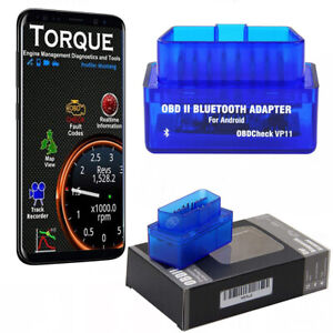 For Android Windows Bluetooth Obd2 Scanner Car Diagnostic Tool Code Reader