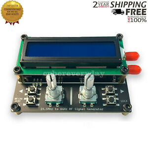 23 5mhz 6ghz Rf Signal Source Generator Usb Power Supply Sma Differential Output