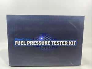 New High Quality Fuel Injection Gauge Pressure Tester Test Kit Blue Driver