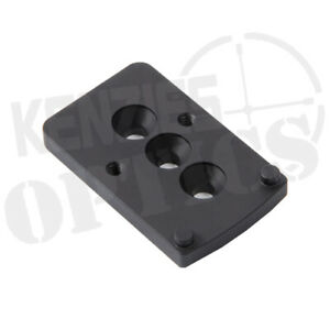 Unity Tactical Fast Lpvo Mount Offset Optic Adapter Plate Fst sopr
