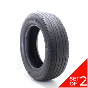 Set Of 2 Used 275 60r20 Michelin Latitude Tour Hp 114h 6 32