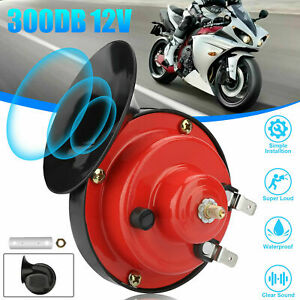 Air Electric Snail Horn 300db Super Loud Waterproof For Truck Car Motorcycle Us