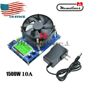 150w 0 10a Constant Current Electronic Battery Capacity Electronic Load Tester