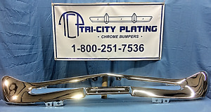 1968 68 1969 69 Mercury Comet Cyclone Montego Front Bumper Show Quality Chrome