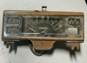 1946 1947 1948 Original Dodge Plymouth Speedometer Gauge Cluster Dashboard Trim