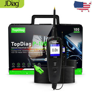 Jdiag Car Power Probe Circuit Tester Electrical System Detector Diagnostic M7v2