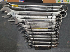 Combination Open End 12pt Box Metric Wrench Set 6 24mm