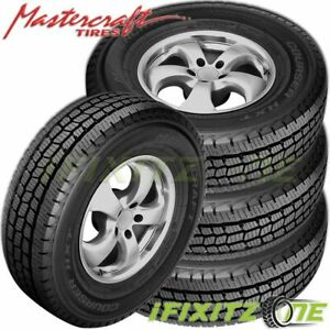 4 X Mastercraft Courser Hxt Lt245 75r16 120r 10 Ply All Season Commercial Tires