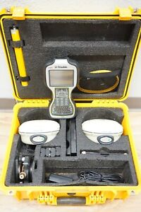 Trimble R8 Model 3 L1 L2 L2c L5 Gps Glonass Gnss Tsc3 Access Rover Base Rtk Set