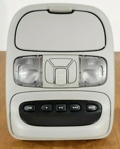 Toyota Sienna Overhead Console With Map Lights And Digital Display Homelink Gray