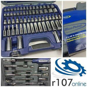 Blue Point 77pc 3 8 Socket Set As Sold By Snap On