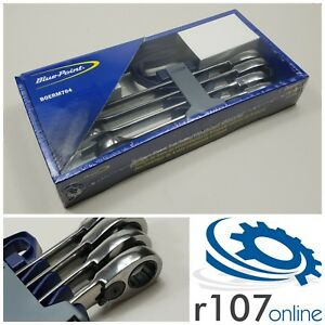 Blue Point 21 25mm Ratchet Spanner Set Boerm704 As Sold By Snap On