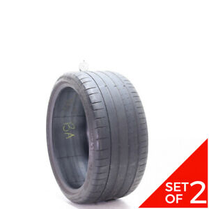 Set Of 2 Used 285 30zr20 Michelin Pilot Super Sport 99y 4 4 5 32