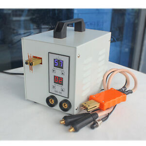 Handheld 5kva Pulse Battery Spot Welder Fit For Battery Pack Gs 05 110v 220v