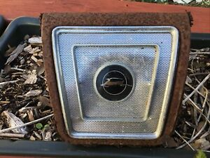 1965 1966 1967 Chevy Impala Rear Seat Speaker Grille Cover