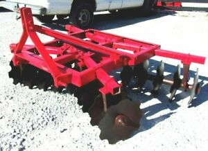 Used Bush Hog Hd 6 Ft 3 Pt Lift Disc Harrow free 1000 Mile Delivery From Ky