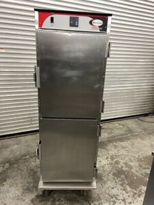 Heated Food Warmer Hot Box Holding Cabinet Bevles Nsf Transport Warming 5099
