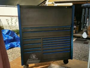 Matco Toolbox Mb7525 Custom 2 Bay Rollaway With Mb752wc Work Center Hutch