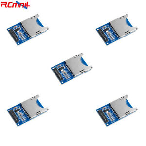 5pcs Fat32 Sd Tf Card Reader Adapter Module Spi Interface For Arduino Uno R3