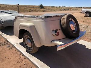 1948 Jeepster Trailer