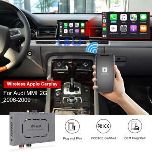 Wireless Ios Carplay For Audi Mmi 2g 2006 2009 Android Auto Retrofit Interface