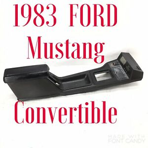 1983 Ford Mustang Lx Gt 5 0 Center Console Convertible Armrest 79 86 Oem Genuine