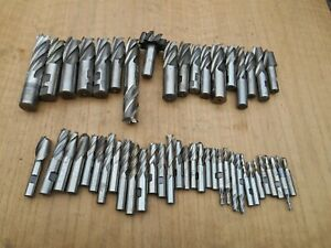 Machinist End Mills Lot Of 50