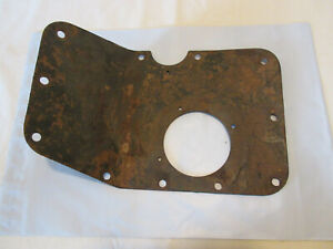 Gpw Willys Mb Jeep T84 Transmission Floor Cover Original