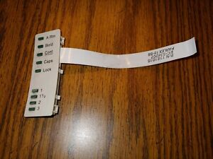 Ibm Personal Wheelwriter Typewriter Part Cable Led Board Used