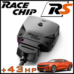 Racechip Rs Series Chip Programmer Tuner 43hp For 2016 2020 Chevy Camaro 2 0l