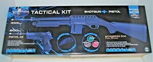 Mossberg Tactical Spring Powered Airsoft Shotgun and Compact .45 Pistol Kit $58.25