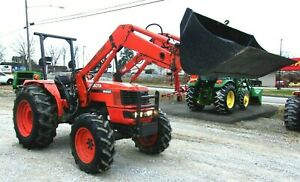 Kubota M4900 4x4 Loader free 1000 Mile Delivery From Ky