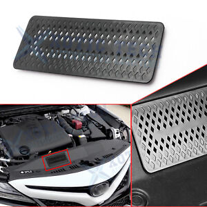 1x Engine Air Intake Dust Stuc Dustproof Cover Trims For Toyota Camry 2018 2021