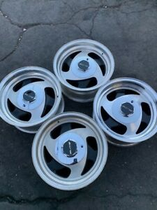 15 Vintage Wheels Rims Alloy Tri Spoke Three American Racing