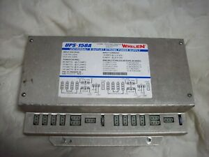 Whelen Strobe Power Supply Ups 158a