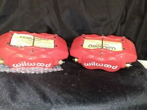 Wilwood 12 13516 rd Red Caliper Set New see Description
