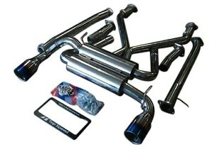 Fits Nissan 370z Vq37vhr 09 20 Top Speed Pro 1 63 5mm Ti Tips Catback Exhaust