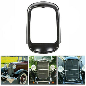 For 1932 Ford Original Style Grill Shell Smooth Top No Crank Hole Black Hot